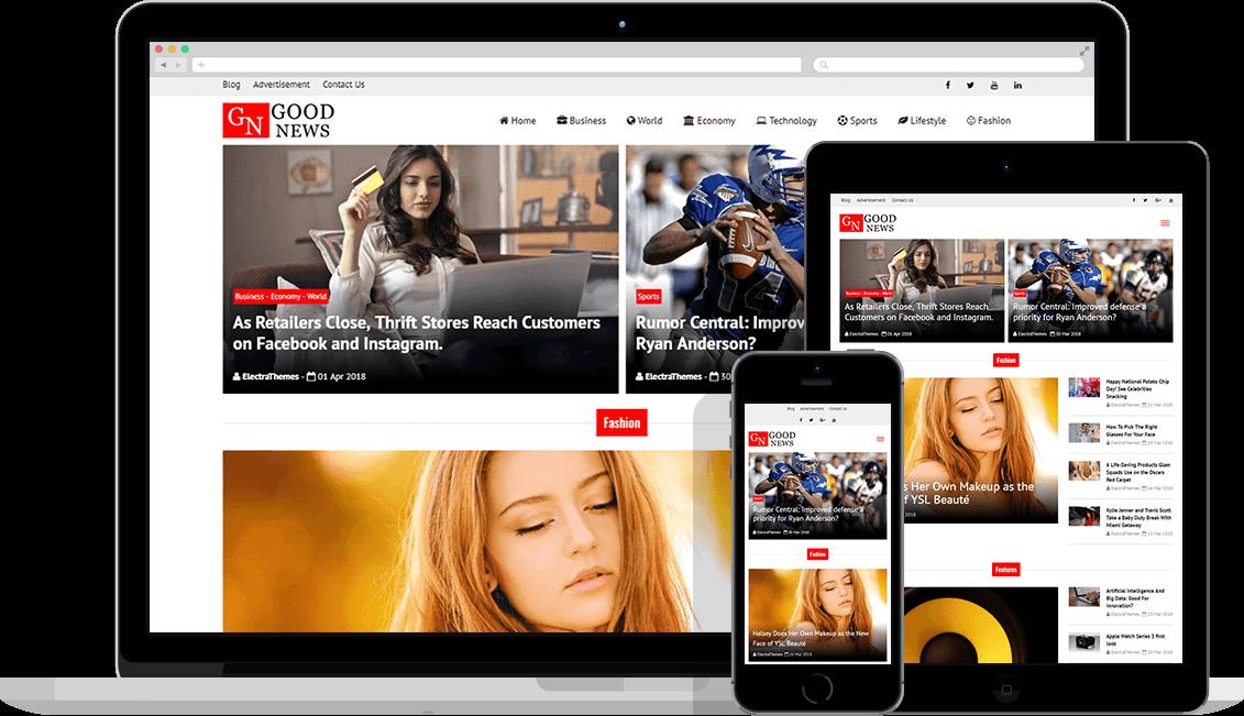 WordPress Haber Teması 2020